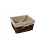 WasserKraft Berkel WB-480-S Плетеная корзина для белья, темно-коричневый