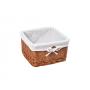 WasserKraft Dinkel WB-580-S Плетеная корзина для белья, светло-коричневый