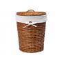 WasserKraft Leine WB-350-L Плетеная корзина для белья с крышкой, светло-коричневый