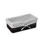 WasserKraft Lossa WB-120-L Плетеная корзина для белья, темно-коричневый