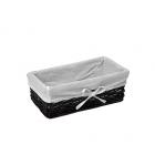 WasserKraft Lossa WB-120-S Плетеная корзина для белья, темно-коричневый