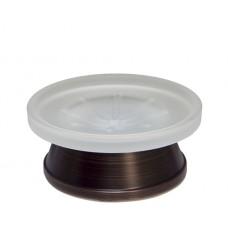 WasserKraft Isar K-2329 Мыльница, темная бронза/матовое стекло