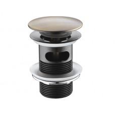 WasserKraft А046 Донный клапан автоматический, светлая бронза