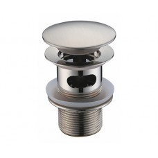 WasserKraft A073 Донный клапан автоматический, матовый хром