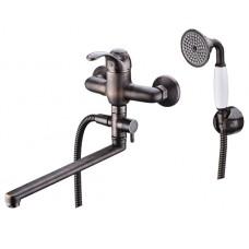 WasserKraft Isar 1302L Смеситель для ванны, темная бронза