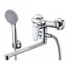 WasserKraft Vils 5602L Смеситель для ванны, хром